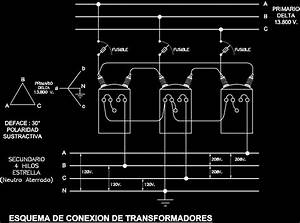 13800v Transformer Connection Diagram Dwg Block For