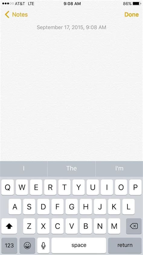 iphone notes app updated to ios 9 but my notes app isn t showing the new