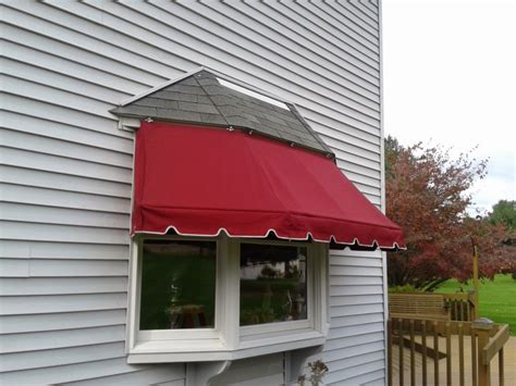 bay window awning kreiders canvas service