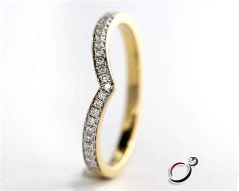 0 10ct wishbone wedding ring wr007 ring