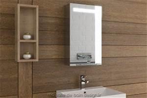 meuble de salle de bain design simple vasque meuble salle With meuble etagere avec porte 12 armoire salle de bain lumineuse simple porte 40 cm de