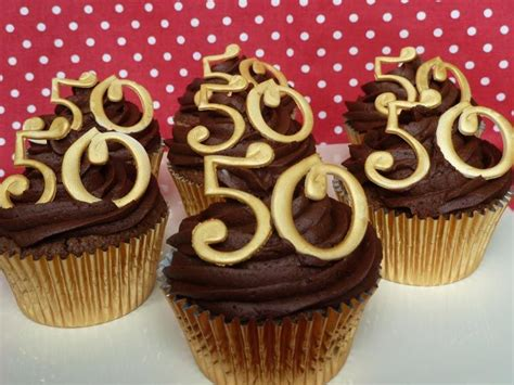 Cupcake Decorating Ideas For 50th Birthday Miloficom