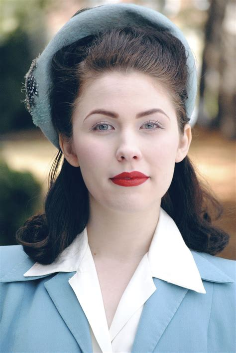 Modern 1940s Hairstyles by The Fiercest Lilliputian Out To Lunch Vintage Fashion