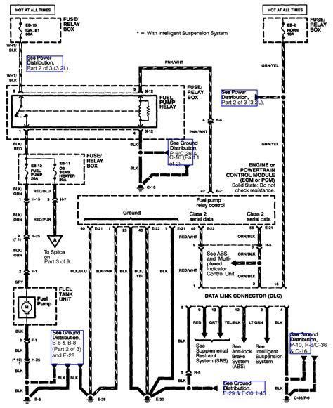 What The Color Code Connection For Fuel Pump