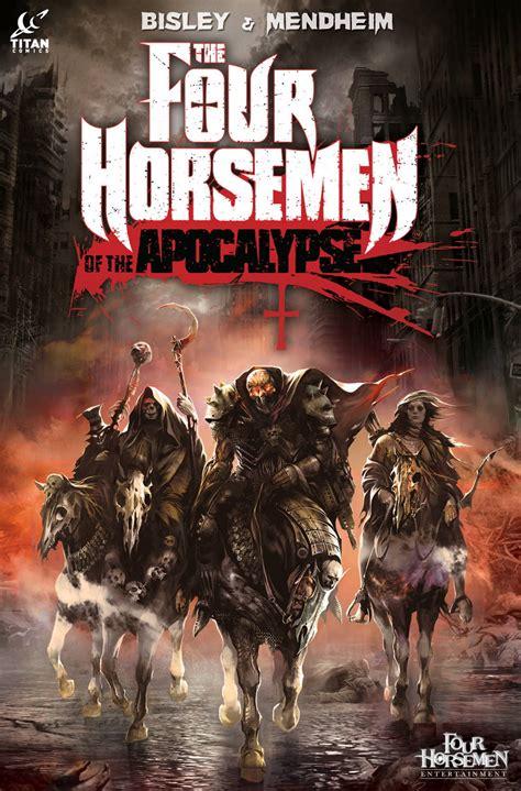 horsemen apocalypse four comics titan solicitations april comic bisley simon