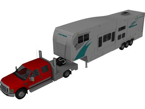 ford  super dually  model  cad browser