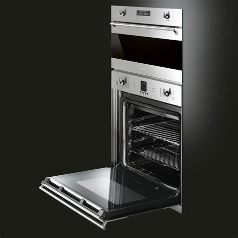 smeg sfxu   single electric wall oven   cu ft capacity  cooking modes