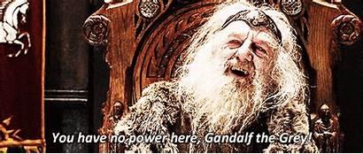 Lord Rings Lotr Power Scene Gandalf Grey