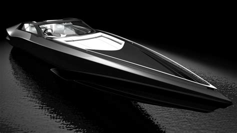 Lamborghini Tender Boat by Fusion Yacht Tender Concept By Yacht Design Yacht