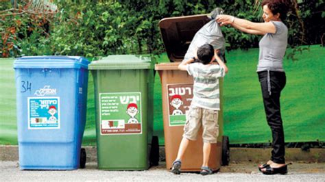 where can i dump a how much do israelis recycle their waste nobody really