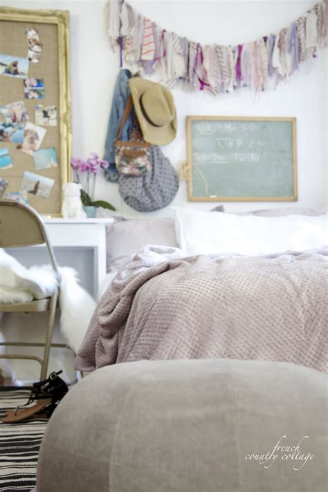 Inspiration College Room Makeover  French Country Cottage