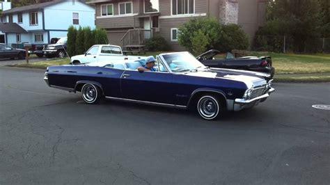 tonys  impala ss convertible burnout youtube