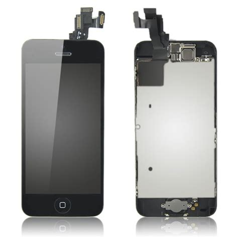 iphone 5c black screen iphone 5c complete lcd screen with small parts black