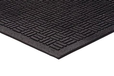 doormats for outside recycled rubber outdoor entrance mat with parquet top