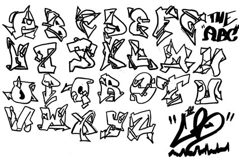Abjad Graffiti T : Photos Alphabet Graffiti Tag Page 9