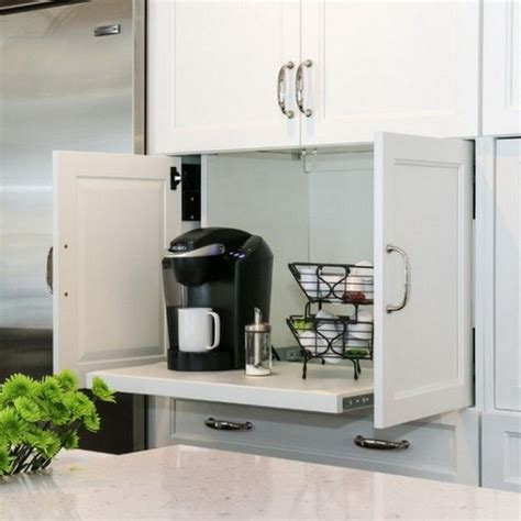 organize  modest appliances   kitchen