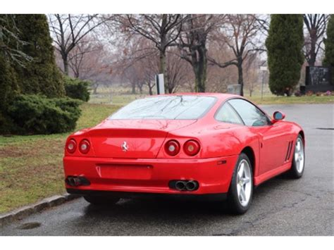 See what power, features, and amenities you'll get for the money. 1999 Ferrari 550 Maranello for Sale   ClassicCars.com   CC-940872
