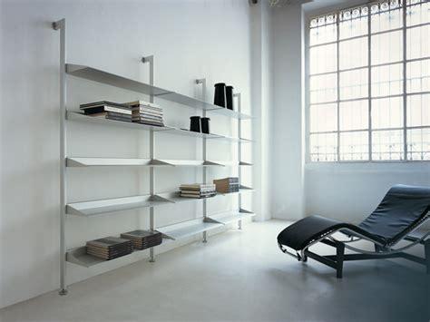 mensole alluminio epomeo mensole in alluminio scaffali aico design