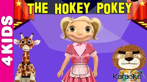 hokey pokey song nursery rhymes karaoke juniors