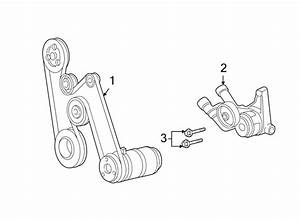 Buick Park Avenue Accessory Drive Belt Tensioner Assembly