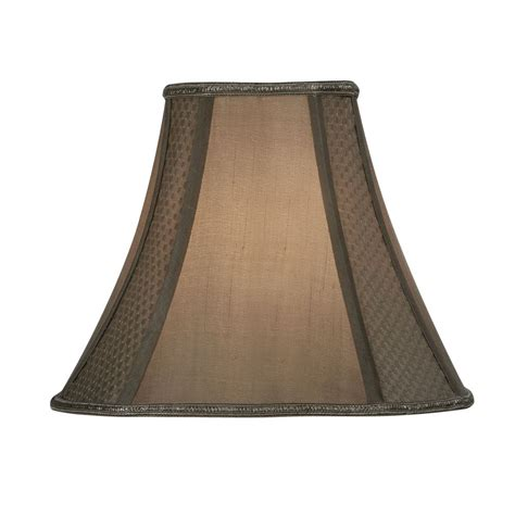 oaks   square lamp shade  gold
