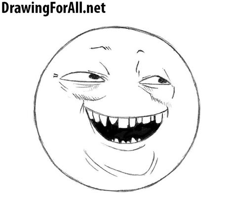 How To Draw Meme - how to draw the cunning meme drawingforall net
