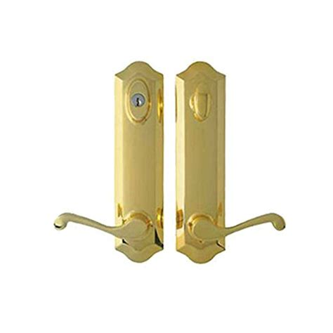 Compare Price To French Door Lock Brass Tragerlawbiz