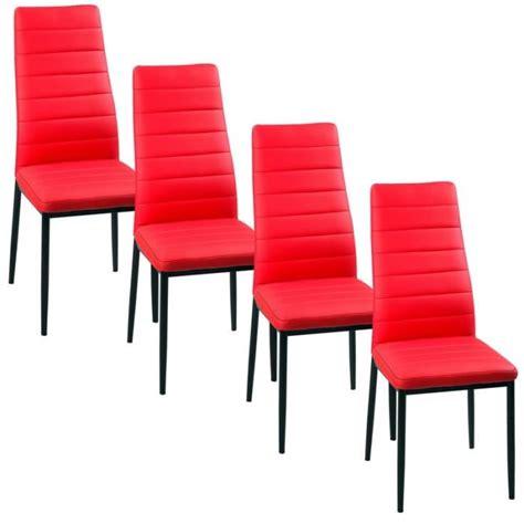 lot de 4 chaise lot de 4 chaises iris achat vente chaise