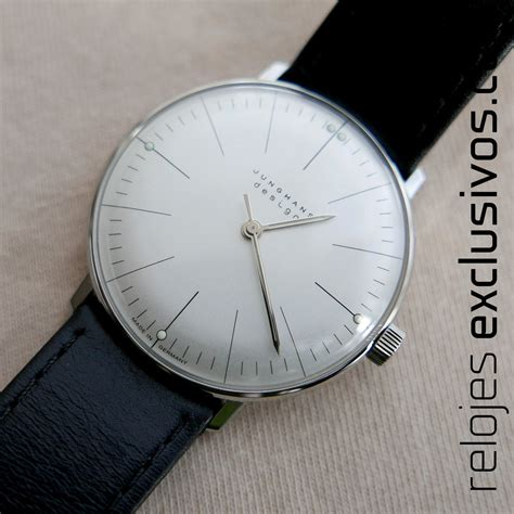 Max Bill By Junghans by Junghans Max Bill 027 3700 00 Relojes Exclusivos