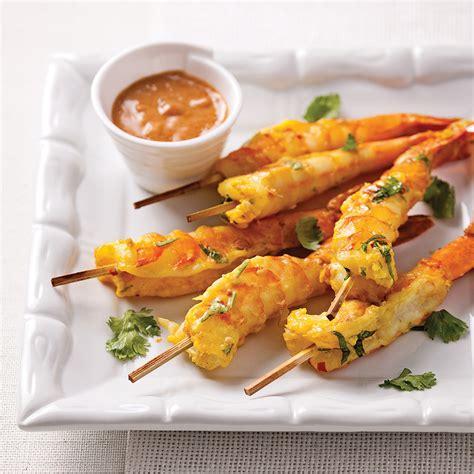 cuisine crevette crevettes jumbo sauce satay recettes cuisine et nutrition pratico pratique