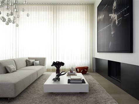 stylish interior design for a flat