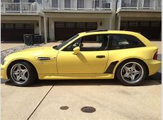 Low miles on a Dakar Yellow Z3 M coupe Rare Cars for