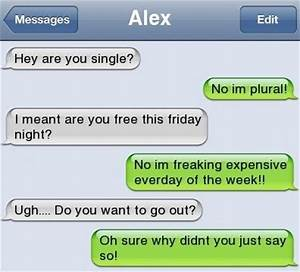 Funny Text – Wanna Go Out? | Funlexia – Funny Pictures