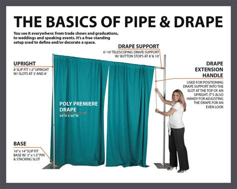 pipe and drape diy best 25 pipe and drape ideas on