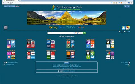 Best Homepage best homepage new tab launch free add ons