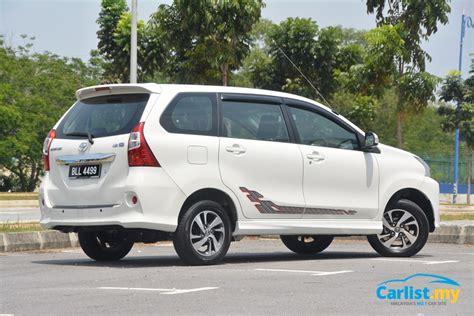 Avanza Modified Malaysia by Review 2015 Toyota Avanza New Engine Familiar Basics