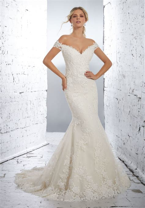 Wedding Dresses by Luciana Wedding Dress Style 1714 Morilee