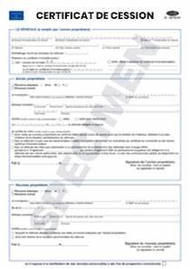 Vente Véhicule Cerfa : cerfa officiel 15776 01 certificat de cession startdoc ~ Medecine-chirurgie-esthetiques.com Avis de Voitures