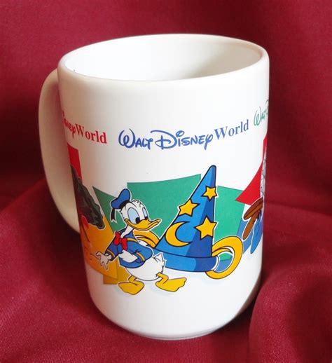 With kermit's signature on the back. Walt Disney World Four Parks One World 14 oz Grandma Souvenir Coffee Cup Mug - Mugs, Glasses