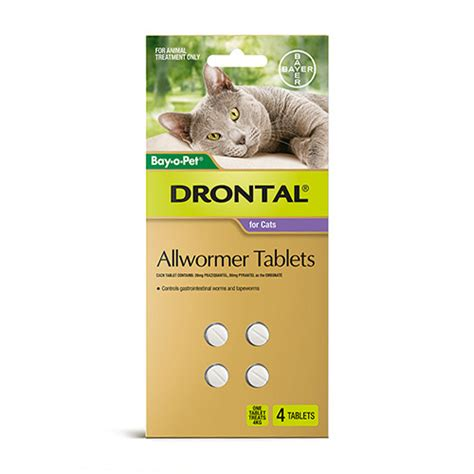 drontal wormer  cats buy drontal  wormer tablets