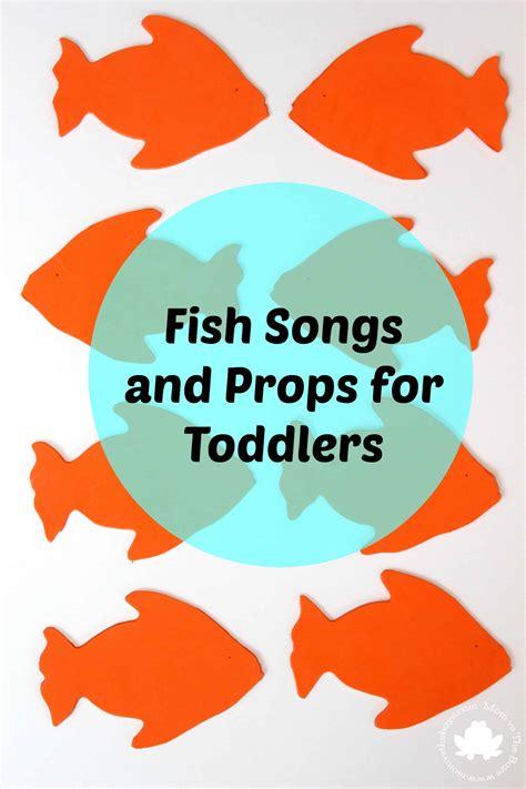 fish songs  toddlers   prop printable mom