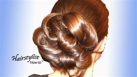 How To Do Hairstyles by How To Do A Low Updo Hairstyle Hair With Wedding