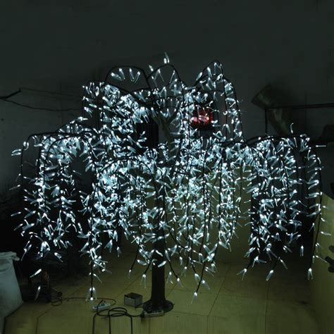 2 0meter high 2592leds outdoor artificial trees
