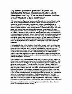 Essay On Lady Macbeth Read Dissertations Online Essay On Lady  Character Analysis Essay On Lady Macbeth Abortion Is Wrong Essay