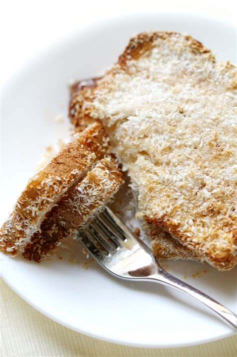 fryer air toast french coconut toasted gluten vegan recipes bread airfryer healthy recipe soggy