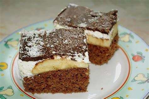 kuchen rezepte mit bild schnelle bananenschnitte rezepte chefkoch de