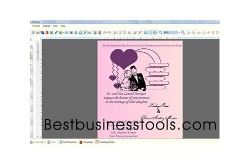 Download Wedding Card Design Software Cobbfo