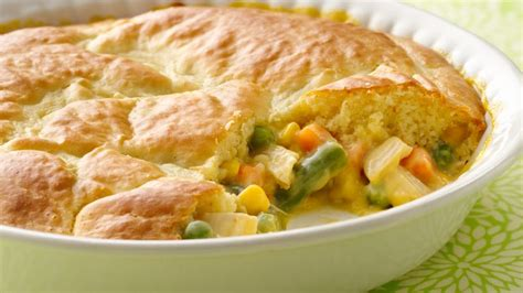 impossibly easy chicken pot pie recipe bettycrockercom