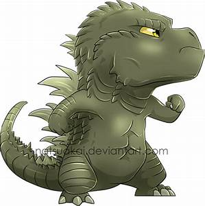 Chibi Godzilla 2 by Natsuakai on DeviantArt
