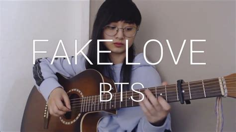 Fake Love Fingerstyle Guitar Cover [free
